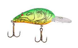 Bomber Bodel A is a mid-depth Bass fishing crankbait