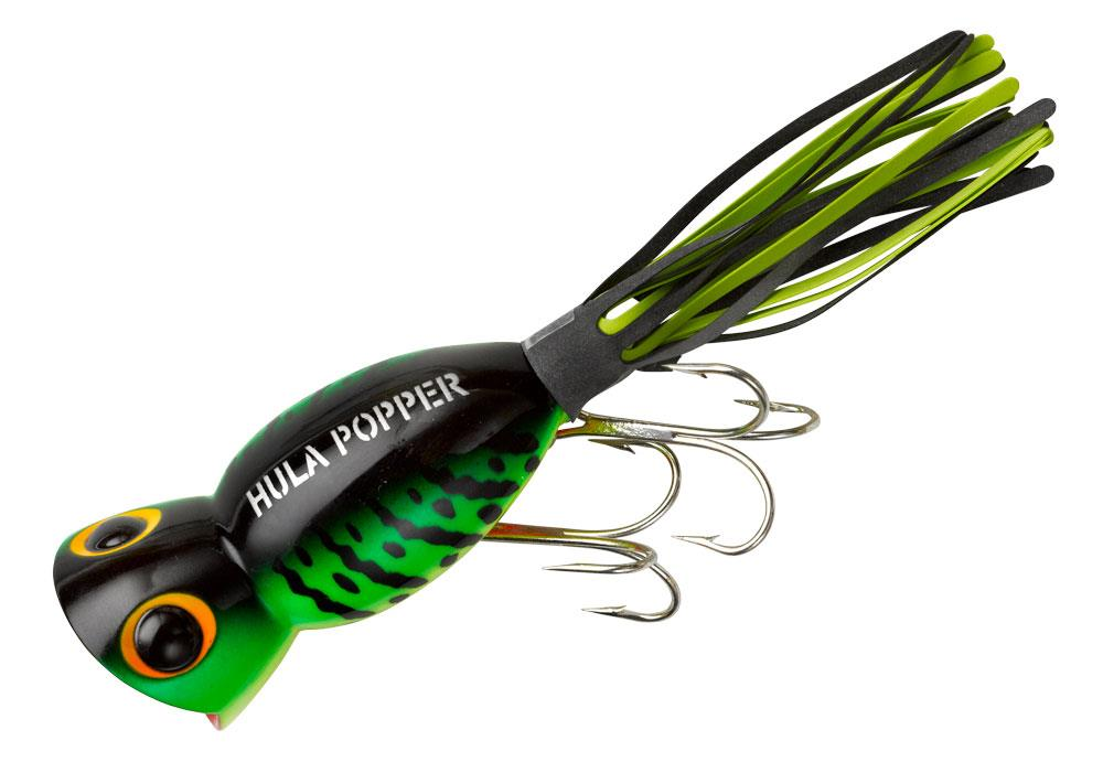 4 1 4 oz arbogast hula poppers topwater bass fishing for Fishing poppers for bass