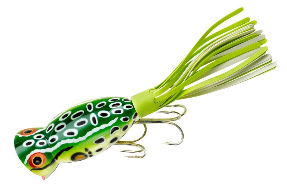 Arbogast hula popper for Popper fishing lure