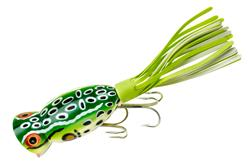 Arbogast Hula Popper Topwater Skirted Popper Fishing Lure
