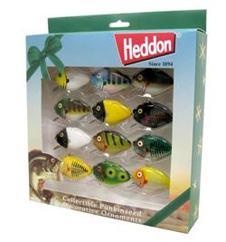 Heddon Punkinseed Christmas Ornaments