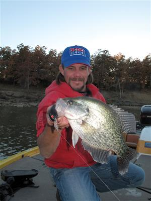 Crappie Fishing Tips on Lurenet   Crankbait Trolling For Fall Crappie Fishing Tips