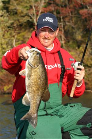 jimmy mason with big fall smallie