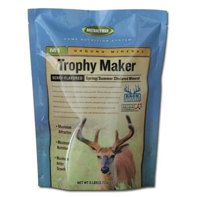 Spring and Summer Mineral Deer Attractant