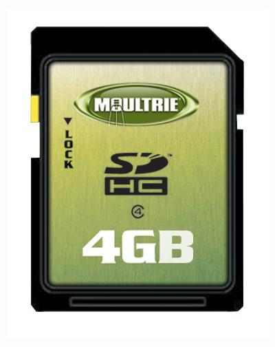 4 GB SD Memory Card