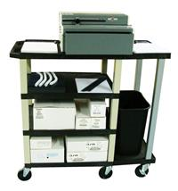 HD 7000 Paper Punch Machine & Mobile Workstation Cart COMBO