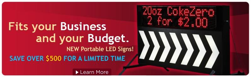 Portable LED Signs