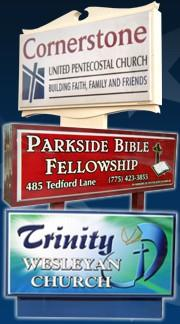 Identification Church Signs
