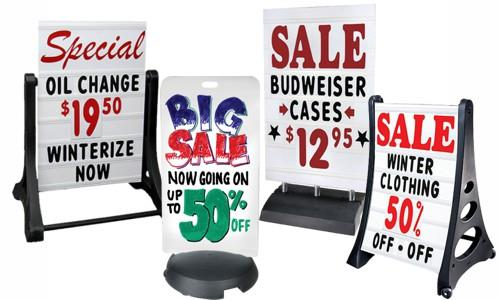 Sidewalk Signs from Outdoor Signs America