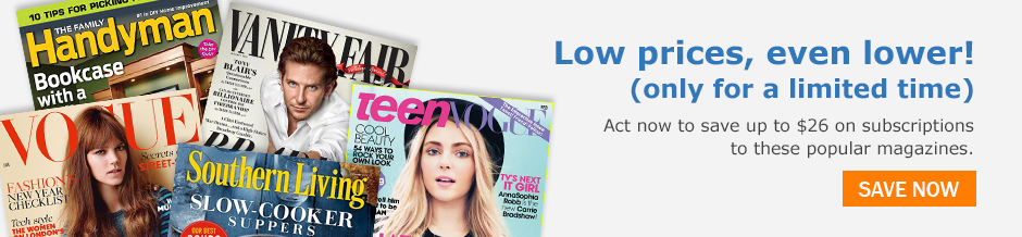 The 5 magazine subscriptions that dropped in price in 2015