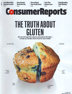 Consumer Reports on Gluten and Rice
