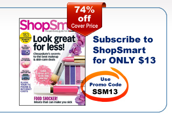 ShopSmart magazine for only $13