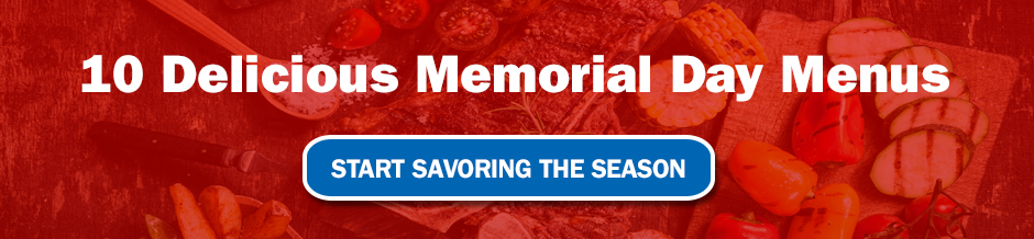 Menu Ideas for Memorial Day from Magazines