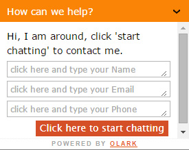 Live Chat is now available again