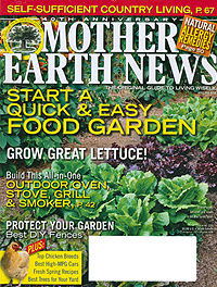 Mother Earth News Grow Lettuce