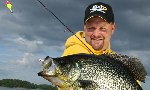 Lindy land now and later slabs for Best crappie fishing times