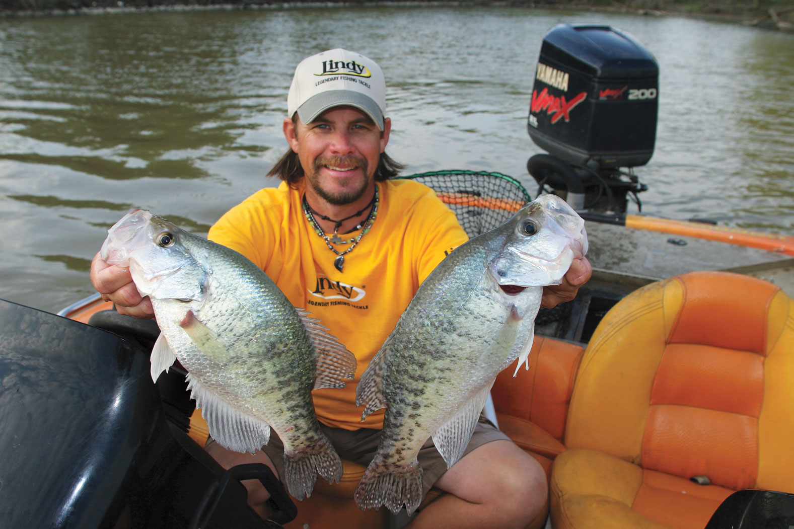 Lindy land brush up on fall crappie for Best crappie fishing times