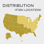 Musky - Locations in United States