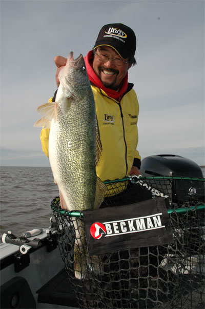 Lindy Fishing Tackle Pro-Staffer Ted Takasaki