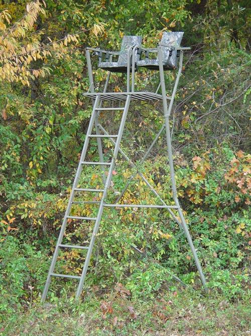 Two Person Hunting Stand