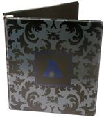 Vinyl Binder with 2 Color Screen Print - WO1014033