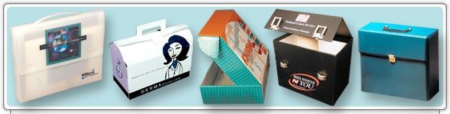 Presentation, Tote & File Boxes