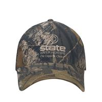 8303 Camo Unstructured Cap