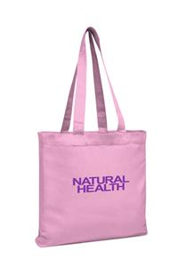 A532 V Natural™ Organic Tote - GUSSETED / COLORED