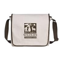 A748 V Natural™ Recycled Cotton Messenger