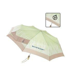 Totes Flat Auto Open Close Folding Rain Umbrella from Luggage