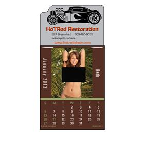 Dream Girls Topless Press-N-Stick™  Calendar