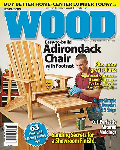 better homes and garden woodworking magazine
