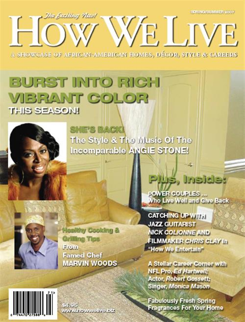 How We Live Magazine - African-American Home Decor For ...