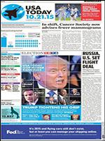USA Today : the Nations Newspaper