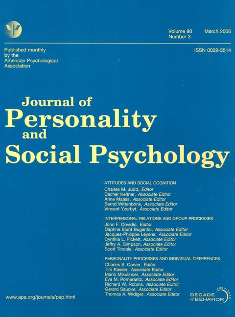 articles from journal of abnormal psychology
