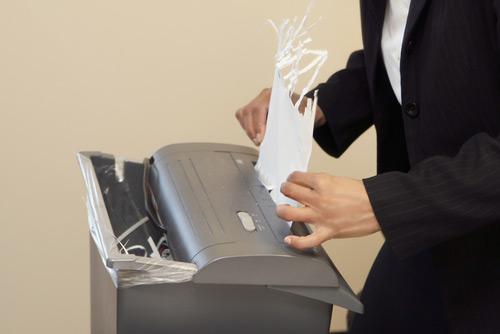 Resultado de imagem para I emptied our paper shredder.